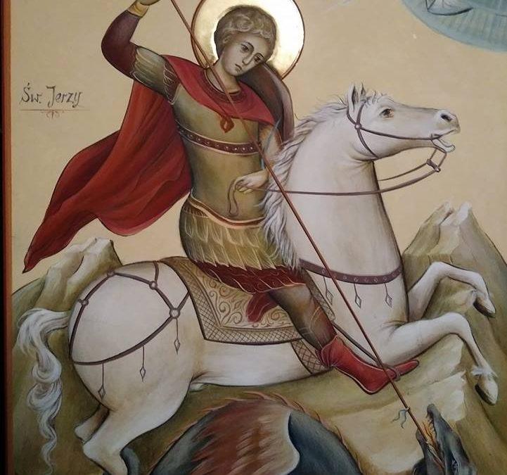 Piszemy ikonę św.Jerzego